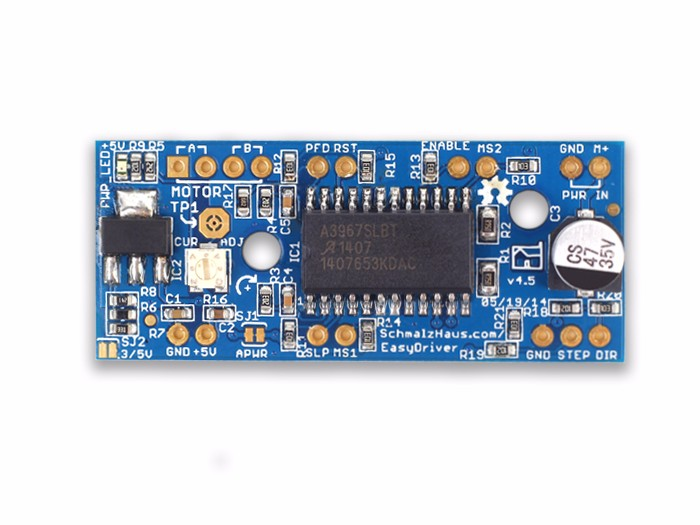 스테퍼 모터 드라이버 Easy Driver stepper motor driver V4.5 [105990027]
